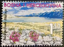 BOSNIA & HERZEGOVINA  1999 MNH STAMP ON EUROPA, NATIONAL PARK ,FLOWER & HILL  IMAGE  STAMP - Bosnia And Herzegovina