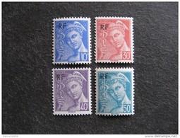 TB Série N° 657 Au N° 660, Neufs XX. - Unused Stamps