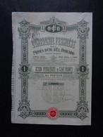 USA - CIE FERMEIRE DES MINES D'OR D'EL DORADO - ACTION PRIVILEGIEE DE 100 FRS - PARIS 1912 - Ohne Zuordnung