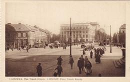 Warszawa.Trzech Krzyzy Square. - Pologne