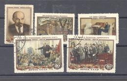 Ru0  -  Russie  :  Yv  1679-83  (o) - Gebruikt