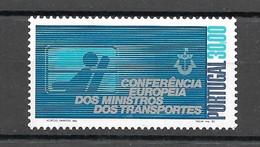 Portugal 1983 - Conferência Europeia Dos Ministros Dos Transportes - Serie Completa Afinsa 1617 - Unused Stamps