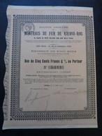 RUSSIE - LOT 2 TITRES - SA DES MINERAIS DE FER DE KRIVOÏ-ROG, BON DE 500 6% - PARIS 1916 - Ohne Zuordnung
