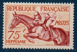 FR 1953 Jeux Olympiques D'Helsinki  : Hippisme  N°YT 965  ** MNH - Nuovi