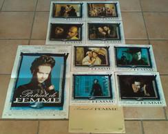 AFFICHE CINEMA FILM PORTRAIT DE FEMME + 8 PHOTOS CAMPION KIDMAN MALKOVICH 1996 TBE - Posters