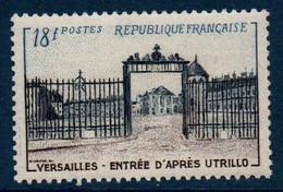 FR 1954  Grille D'entrée Du Château De Versailles   N°YT 988  ** MNH - Unused Stamps