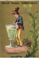 Chromos - Biscuits Pernot-Gille - Dijon -l'Absinthe - E 5198 - Pernot