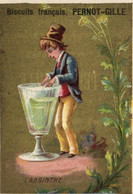 Chromos - Biscuits Pernot-Gille - Dijon -l'Absinthe - E 5198a - Pernot