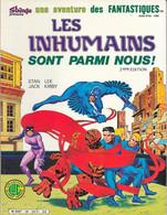 Les Fantastiques N°39 Les Inhumains Sont Parmi Nous (2e édition) - LUG 1986 TB - Fantastic 8