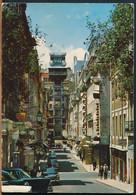 °°° 28403 - PORTUGAL - LISBOA - ELEVADOR DE SANTA JUSTA - 1984 With Stamps °°° - Lisboa