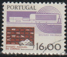 Portugal 1983 Scott 1373B Sello º Tecnologia Servicios Postales Manuales Y Automaticos Michel 1610 Yvert 1587 Stamps - Used Stamps