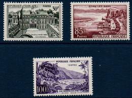FR 1959  Série Touristique    N°YT 1192-1194  ** MNH - Nuovi