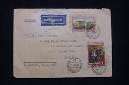 U.R.S.S. - Enveloppe De Moscou Pour La France En 1955 - L 100295 - Covers & Documents