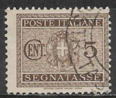 Italy 1934. Scott #J28 (U) Coat Of Arms - Strafport