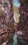 Rotweinklamm Bei Veldes (Bled) * Fluss, Pfad, Felsen, Alpen * Slowenien * AK007 - Slovenië