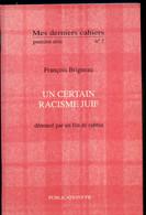 Un Certain Racisme Juif Dénoncé Par Un Fils De Rabbin - War 1914-18