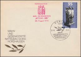 2451 Gedenkstätte Mittelbau-Dora: Schmuck-FDC Mit Rotem Nebenstempel NORDHAUSEN - Unclassified