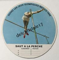 IM 0027 Image Vache Qui Rit Jeux Olympiques De Mexico 1968 - Saut à La Perche - Athletics
