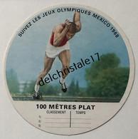 IM 0028 Image Vache Qui Rit Jeux Olympiques De Mexico 1968 - 100 Mètres Plat - Athletics