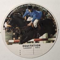 IM 0032 Image Vache Qui Rit Jeux Olympiques De Mexico 1968 - Équitation - Equitation
