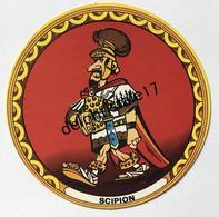 IM 0035 Publicité Fromage La Vache Qui Rit - Personnages D'Astérix - Scipion - Advertising