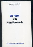 LES PAPES ET LA FRANC-MACONNERIE -  Georges Irebeau - War 1914-18