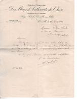 38 GRENOBLE ISERE FACTURE MINE ANTHRACITE CHARBON - 1900 – 1949