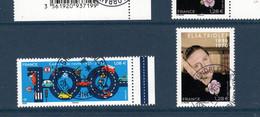 France 2021.issu De La Mini Feuille 100 Ans Du Code De La Route & Elsa Triolet..Cachet Rond Gomme D'origine. - Used Stamps