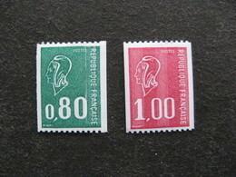 TB Paire N° 1894a Et N° 1895a, Numéros Rouges Au Verso, Neufs XX. - Unused Stamps