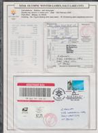USA A4 Exhibition Page: 2002 Salt Lake Olympic Games - Biathlon - Self Inking (BX1-116) - Winter 2002: Salt Lake City