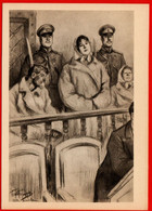 11283 Pasternak Tolstoy Sunday Court Police Lawyer Justice Law Lawyer Gendarme Police Accused The Soviet Of The USSR In - Policia – Gendarmería