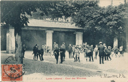 92) SCEAUX : Le Lycée Lakanal - Cour Des Minimes (1911) - Sceaux