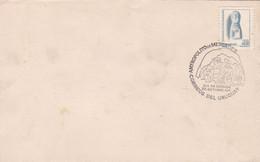 URUGUAY. ANTROPOLITO DE MERCEDES, SCULPTURE EN PIERRE. ANNEE 1976 FDC ENVELOPPE.- LILHU - Archeologia
