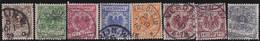 Deutsches Reich   .    Michel   .   45/52       .     O        Gebraucht - Used Stamps