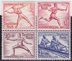 Deutsches Reich   .    Michel     .  628/631    .     **    ,     Postfrisch - Unused Stamps