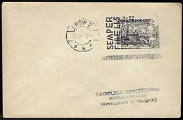LWOW - 15 XI 1938 - POUR VARSOVIE - SEMPER FIDELIS - Cartas