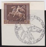 Deutsches Reich   .    Michel     .    671y   .   Auf Papier     .     O    ,     Gebraucht - Used Stamps