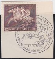 Deutsches Reich   .    Michel     .    780    .   Auf Papier      .      O    ,     Gebraucht - Used Stamps
