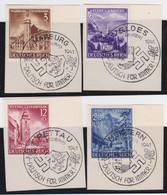 Deutsches Reich   .    Michel     .    806/809    .   Auf Papier      .      O    ,     Gebraucht - Used Stamps