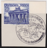 Deutsches Reich   .    Michel     .    803   .   Auf Papier      .      O    ,     Gebraucht - Used Stamps