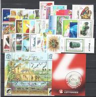 Austria 2002 Annata Completa / Complete Year Set **/MNH VF - Ganze Jahrgänge