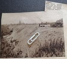 WERKEN AAN DE NIEUWE AUTOBAAN ANTWERPEN - BRUSSEL OVER BOOM LONDERZEEL, MEYSSE..1937.. - Unclassified