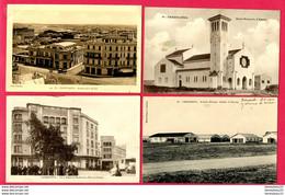 LOT DE 4 CPA (Réf : Z 907) (AFRIQUE -MAROC) CASABLANCA - Casablanca