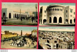 LOT DE 4 CPA (Réf : Z 908) (AFRIQUE -MAROC) CASABLANCA - Casablanca