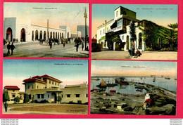 LOT DE 4 CPA (Réf : Z 916) (AFRIQUE -MAROC) CASABLANCA - Casablanca