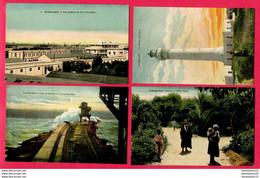 LOT DE 4 CPA (Réf : Z 911) (AFRIQUE -MAROC) CASABLANCA - Casablanca