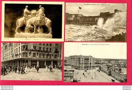 LOT DE 4 CPA (Réf : Z 912) (AFRIQUE -MAROC) CASABLANCA - Casablanca