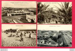 LOT DE 4 CPA (Réf : Z 915) (AFRIQUE -MAROC) CASABLANCA - Casablanca