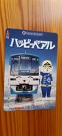 Prepaid Transport Card Japan - Train, Railway - Japan