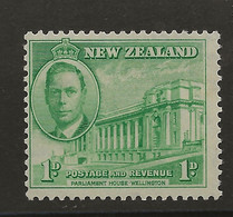 New Zealand, 1946, SG 668, Mint Hinged - Unused Stamps